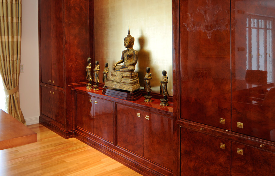 Mahagoni Holz Möbel